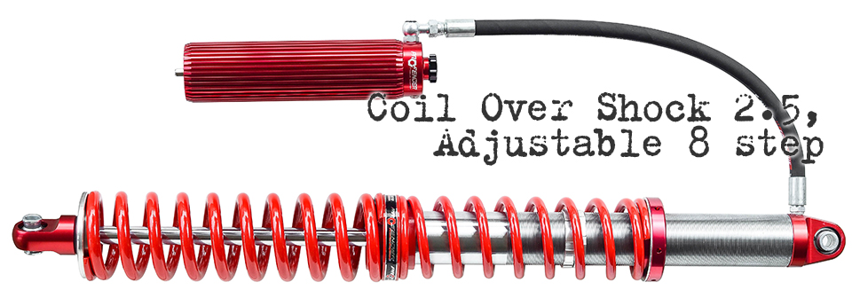 Coil Over Body 2,5″ Adjustable 8 step