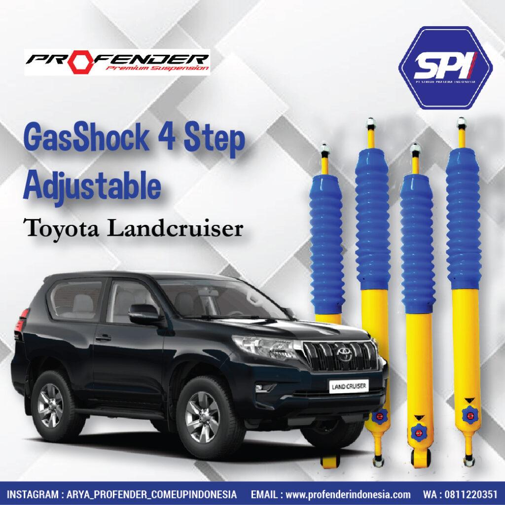 Gas Shock 4 Step Adjustable