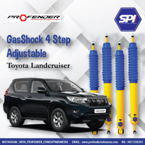 GasShock 4 Step Adjustable ( Toyota Landcruiser )