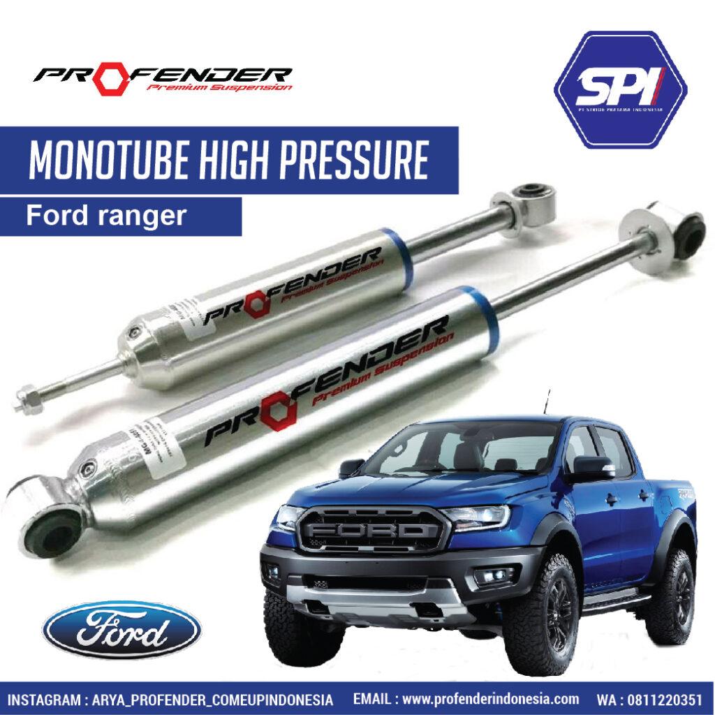 Monotube High Pressure 2.0  untuk Ford Ranger