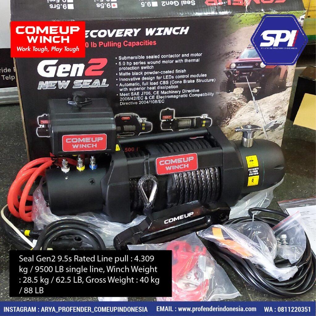 Comeup Winch Seal Gen2 9.5s