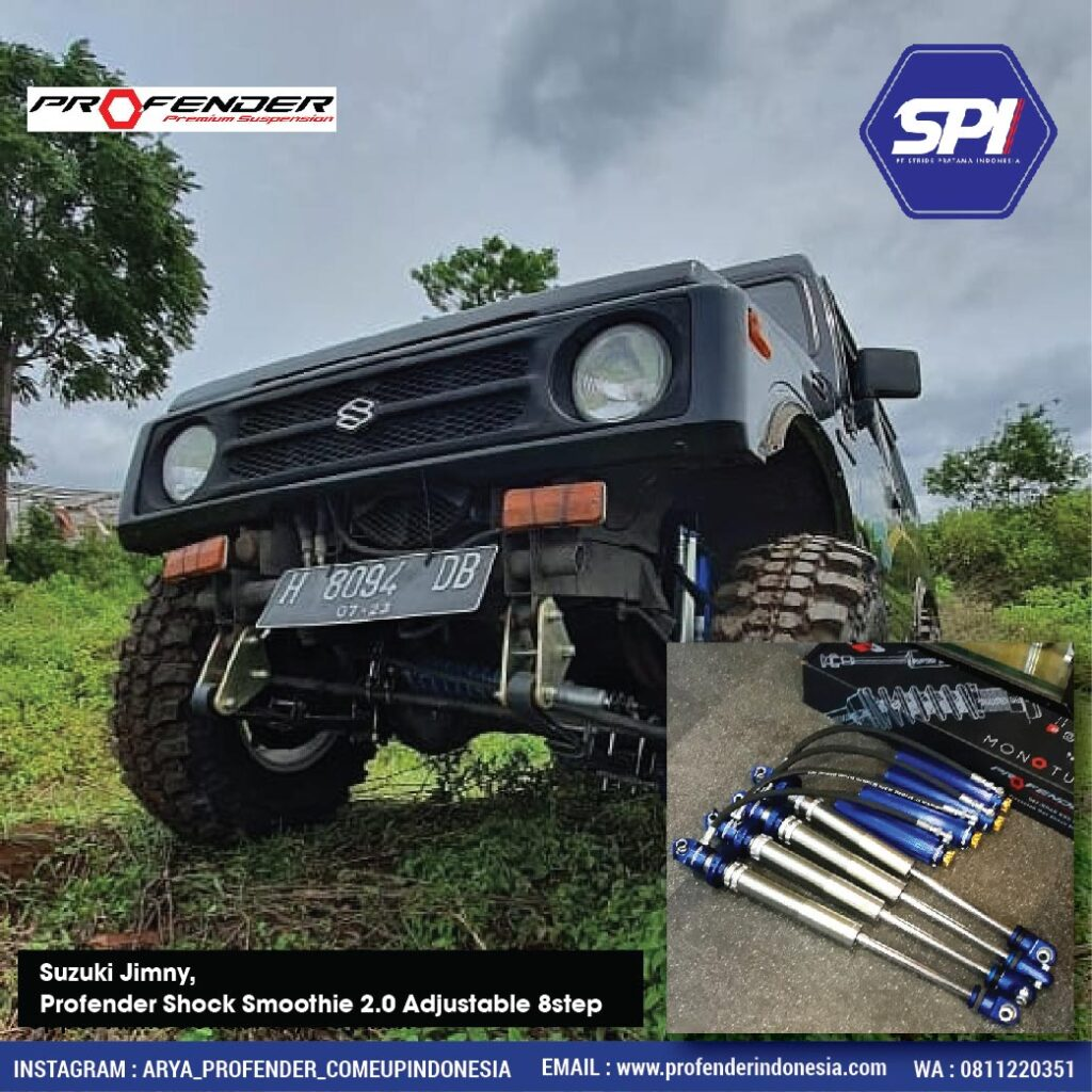 Suzuki Jimny,  Profender Shock Smoothie 2.0 Adjustable 8step