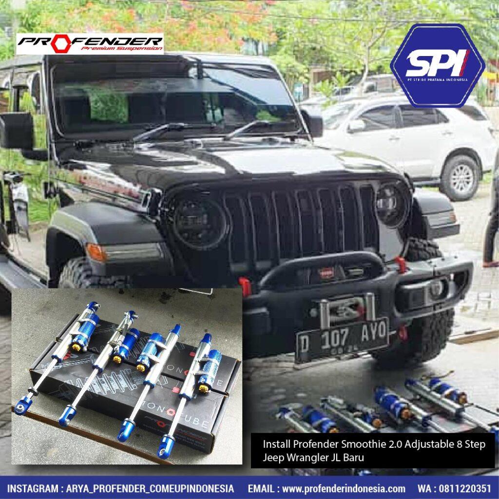Install Profender Smoothie 2.0 Adjustable 8 Step ( New Jeep Wrangler JL )