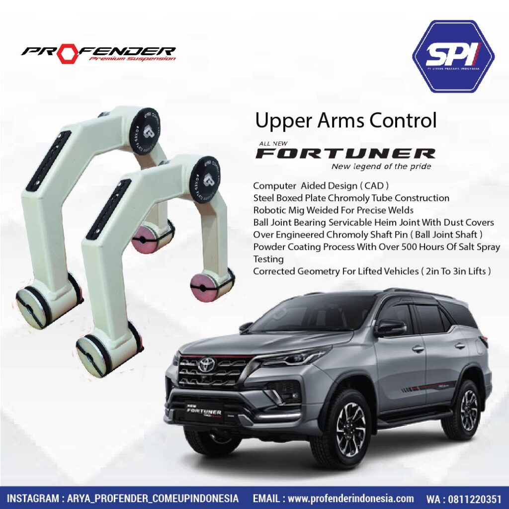 Upper Arms Control Fortuner
