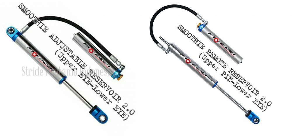 Smoothie Remote Reservoir 2.0  Adjustable 8 Step