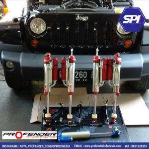 Upgrade Jeep Wrangler JK 3.8 3800cc. Bypass Shock 2.5