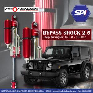 Bypass Shock 2.5 ( Jeep Wrangler Jk 3.8 - 3800cc)
